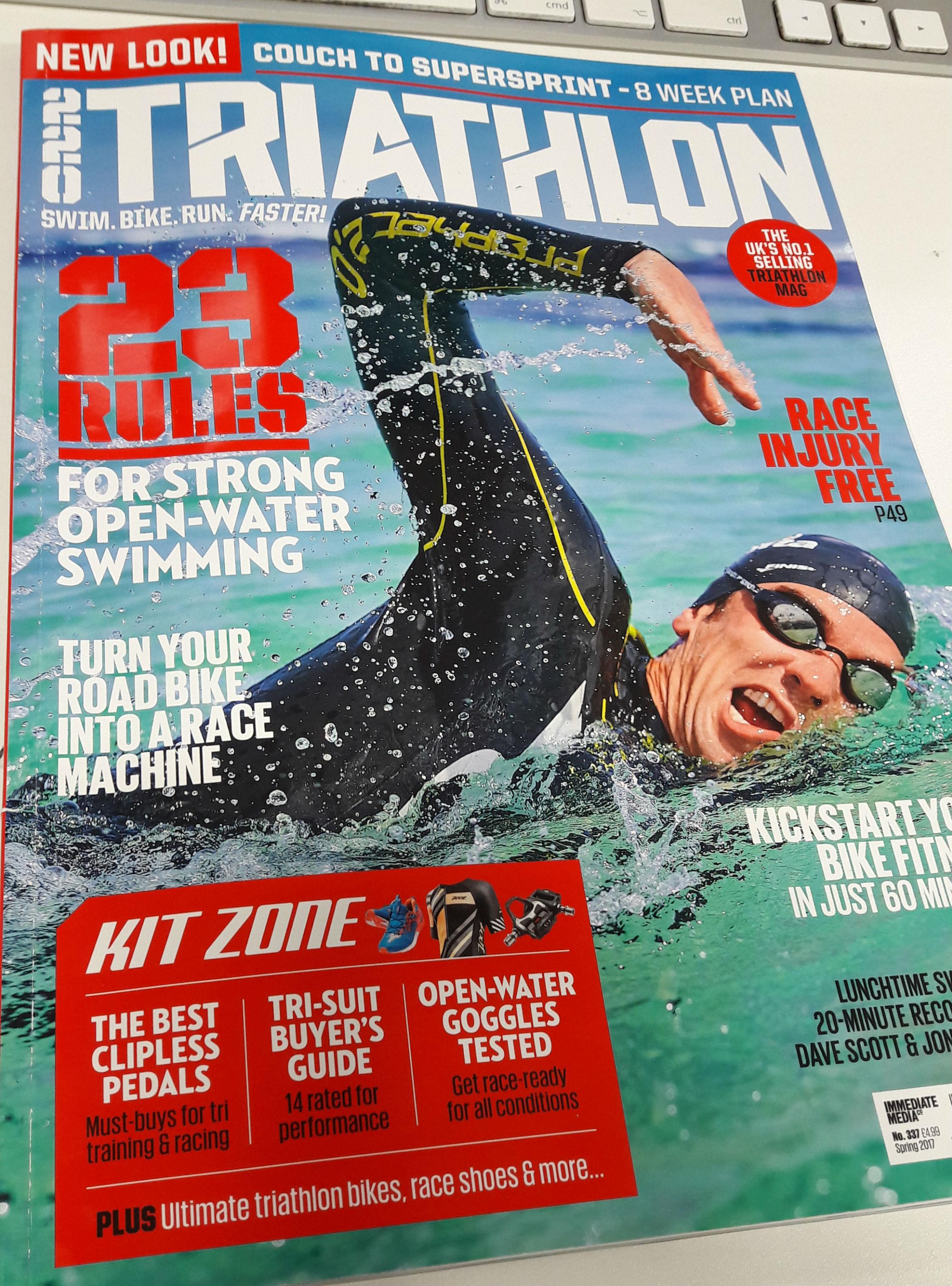 220 Tri magazine cover