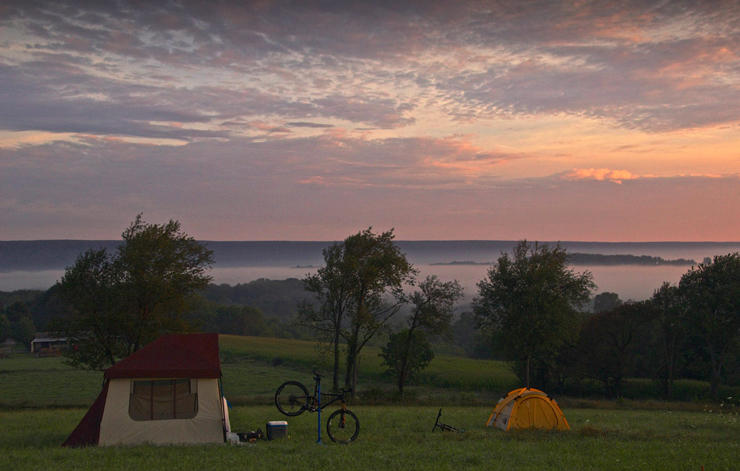 Cycling Philadelphia Raystown Lake