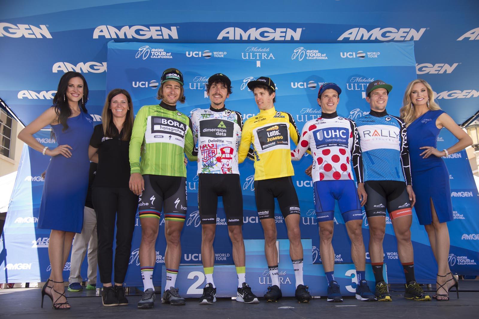 Tour of California Stage 7 Podium