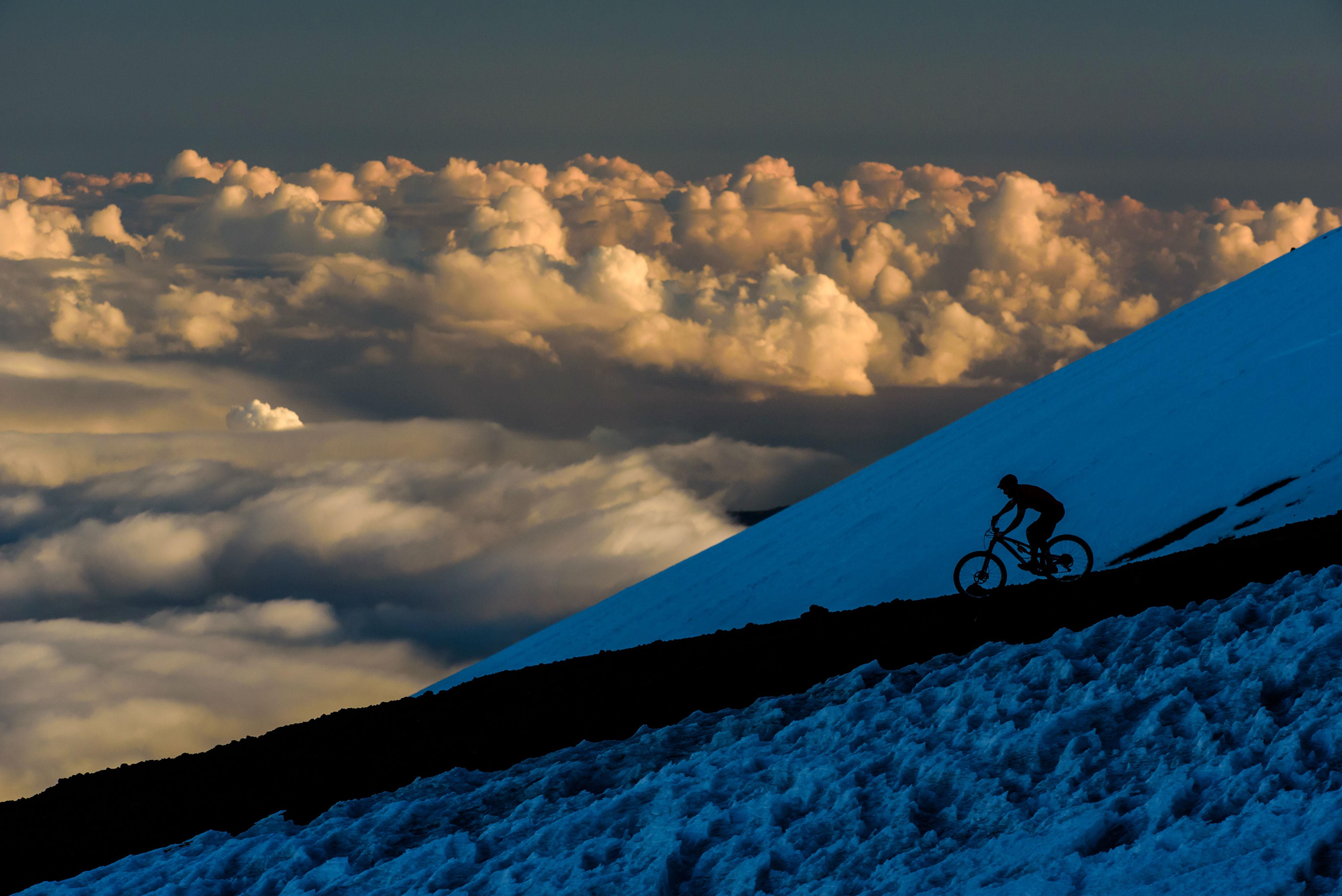 it's called mountain biking