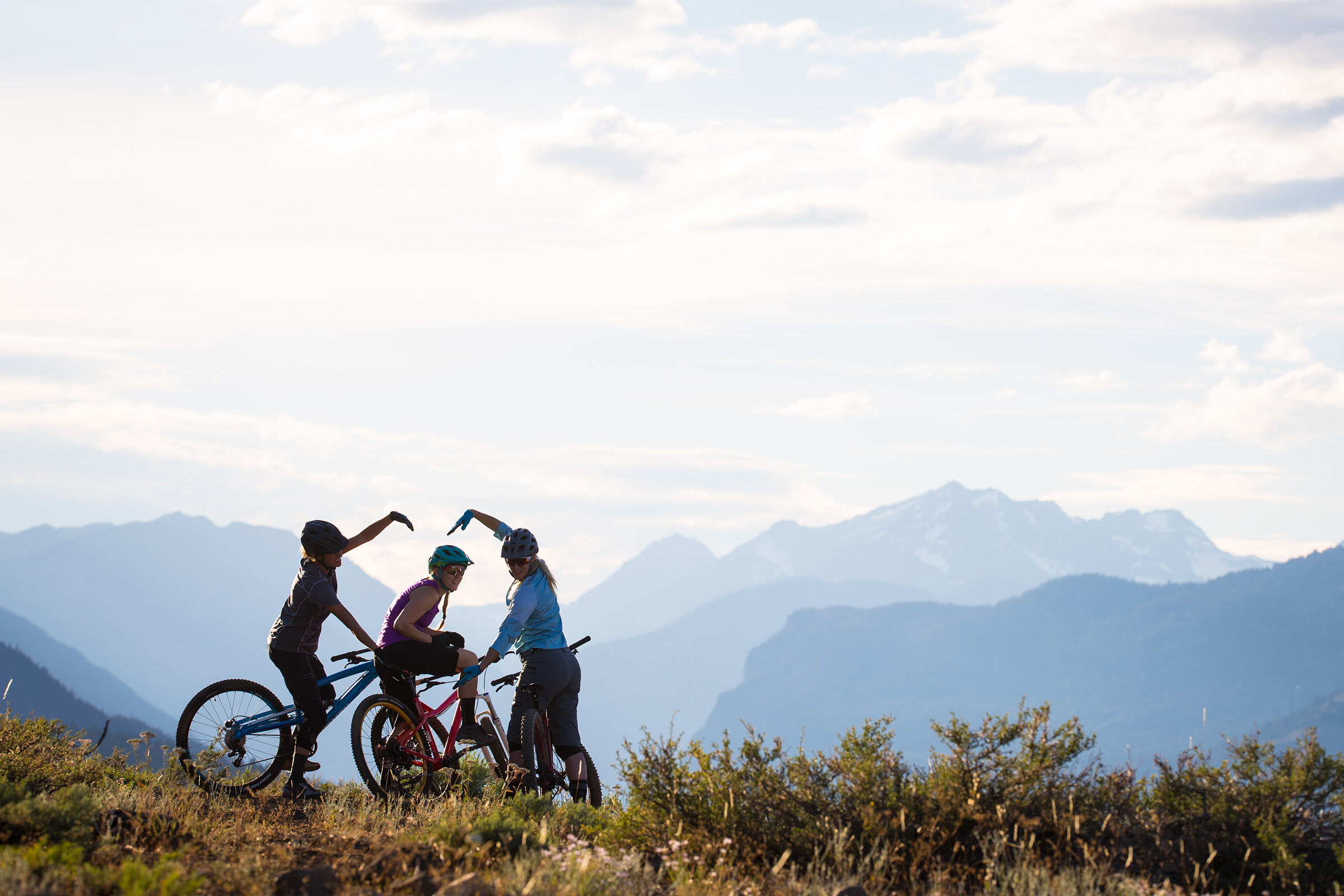 there's no shortage of inspiring women on mountain bikes