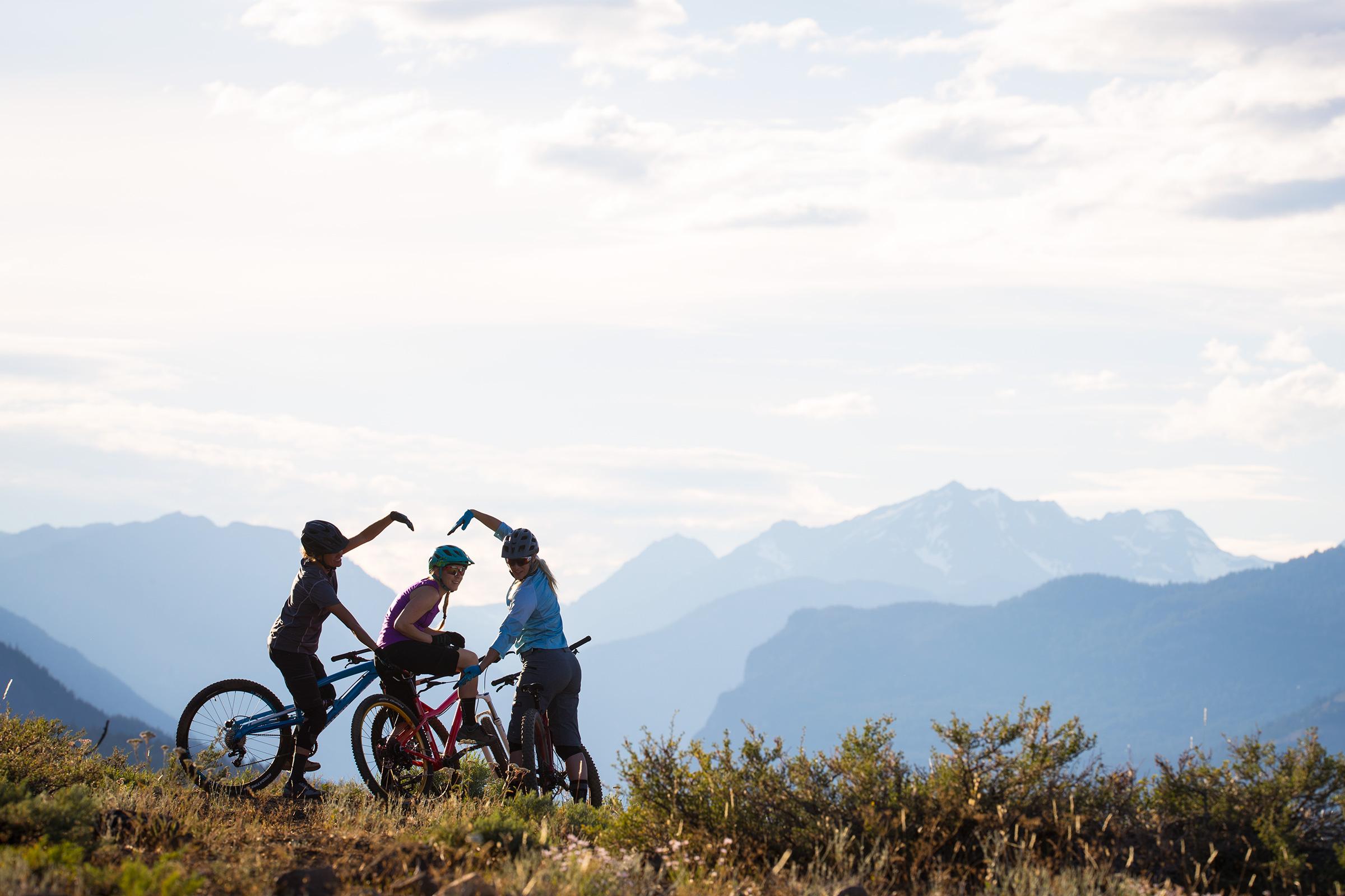 there's no shortage of inspiring women on mountain bikes