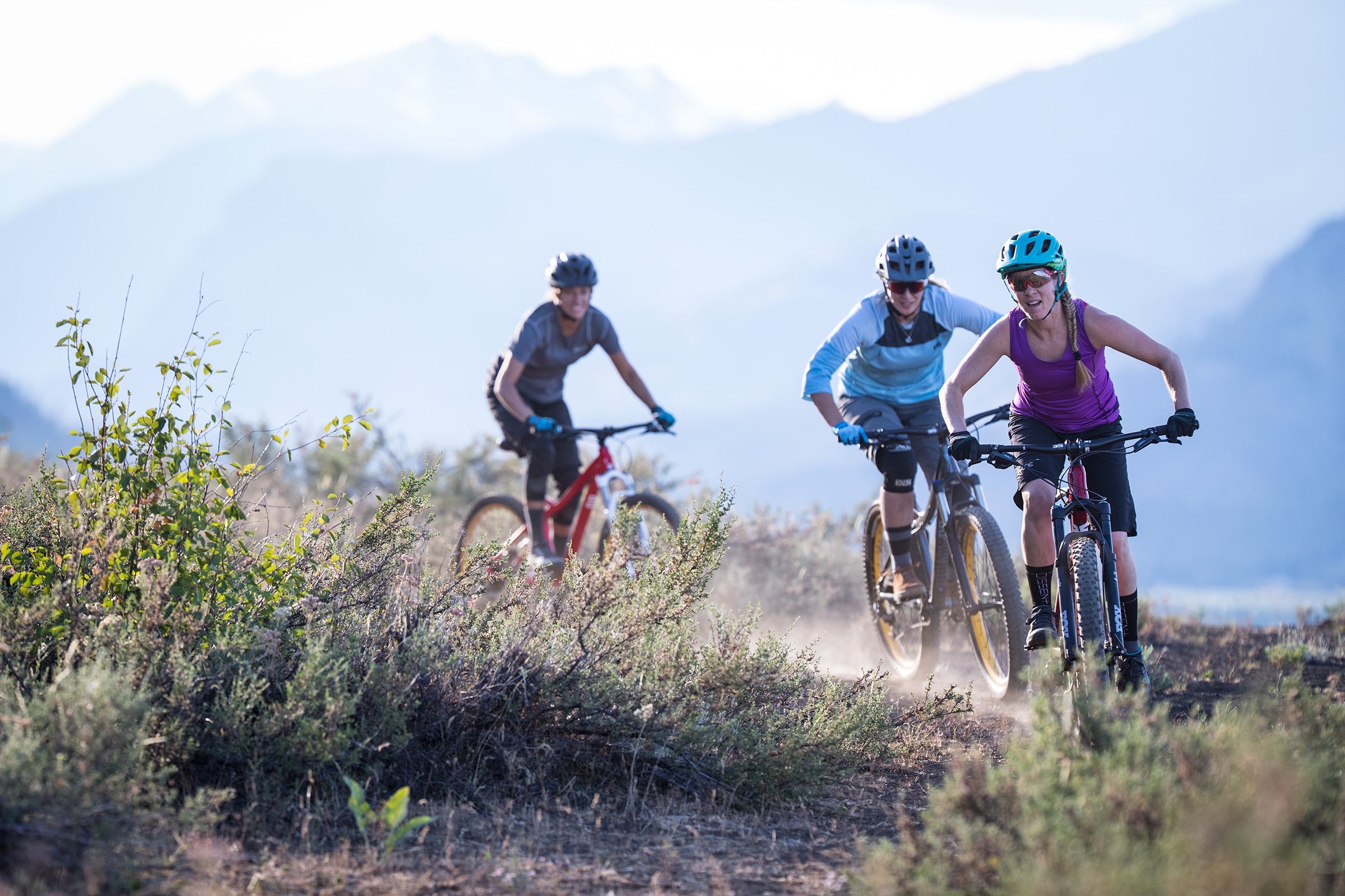 Mountain biking is great on its own, but friends make everything better