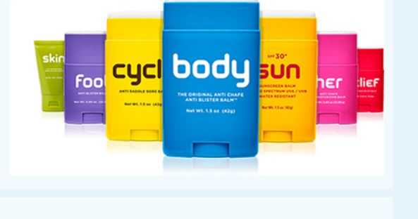 Body Glide lubrication