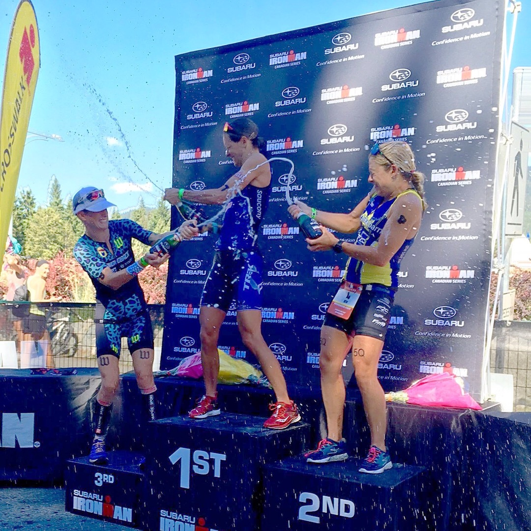 Rachel McBride Serios Ironman Canada Whistler