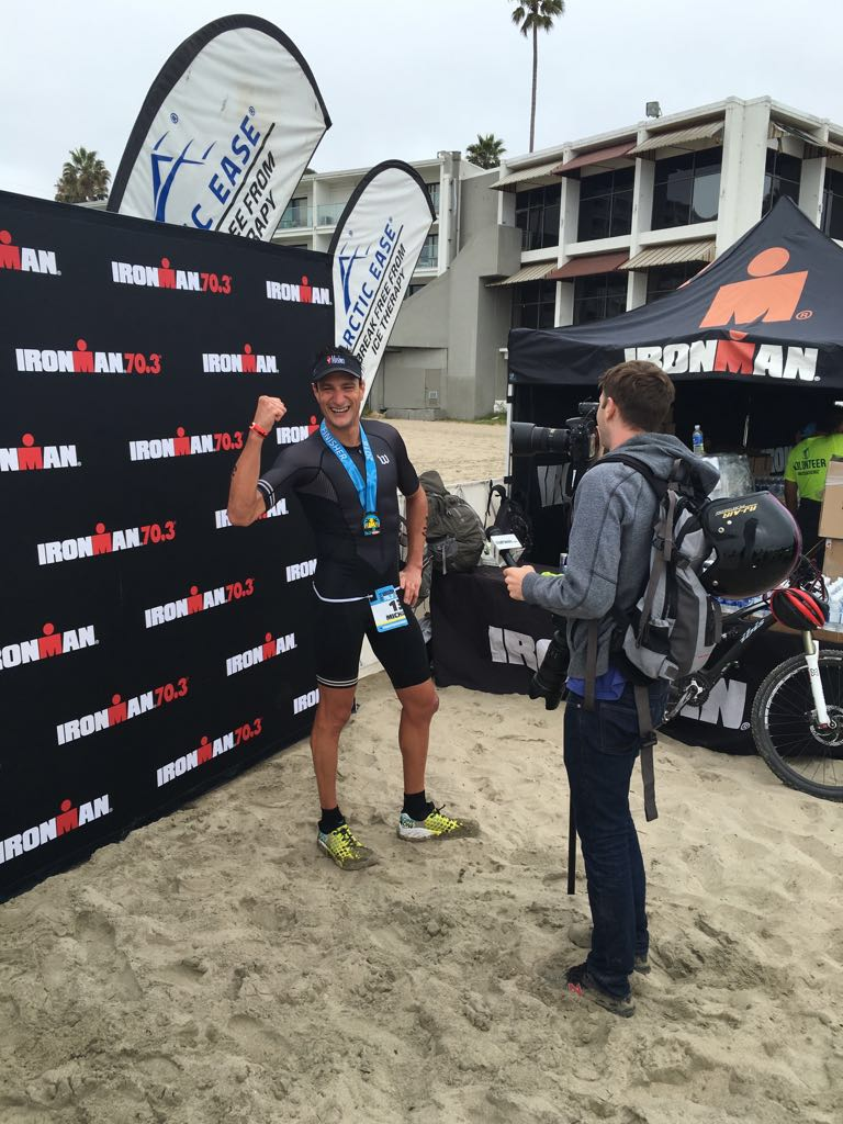 congratulations to michael weiss on winning ironman santa cruz 70.3