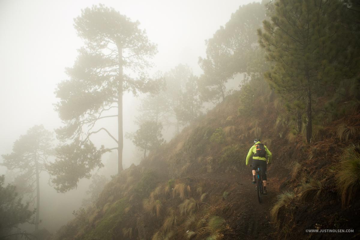 Riding in fog