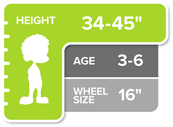 16 Inch Kids Bike Size