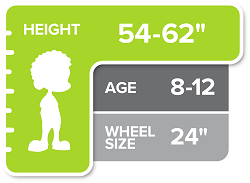 24 Inch Kids Bike Size