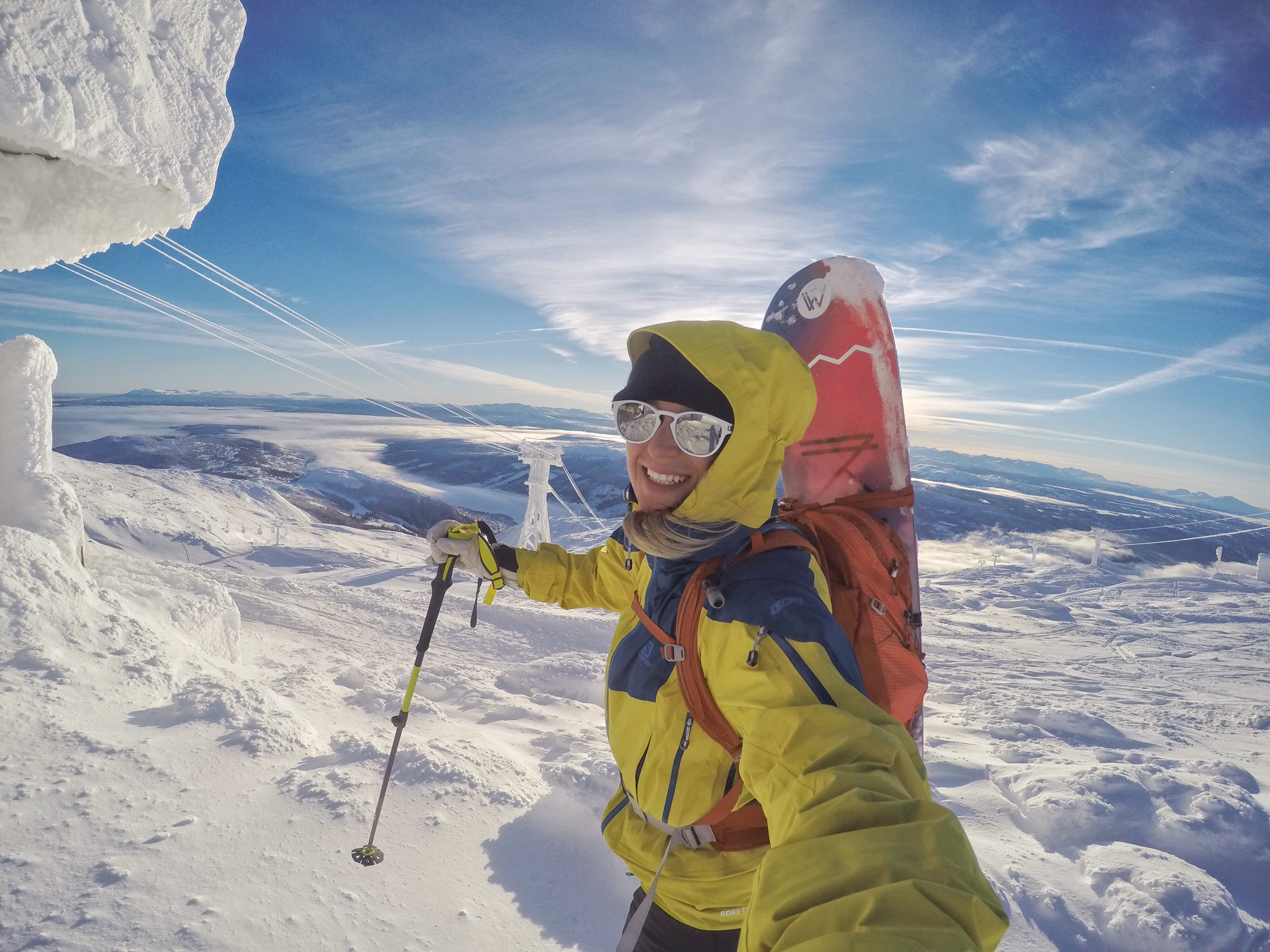 Snowboard Micayla Gatto