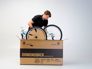 Remove bike from box
