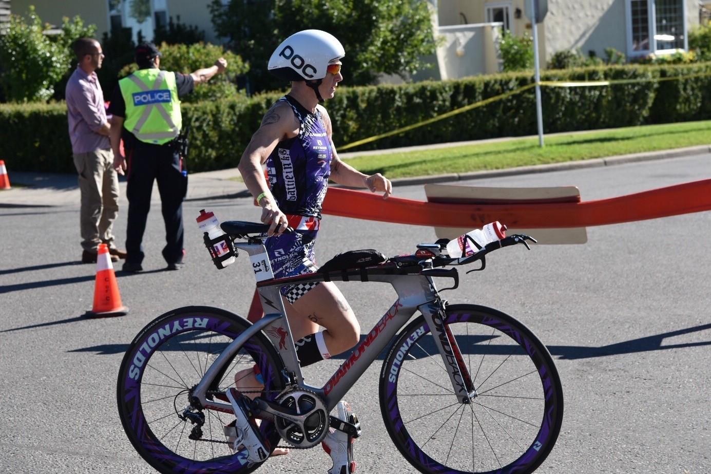 Rachel McBride Triathlon T1