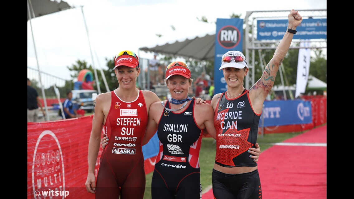 ITU World Champs Podium