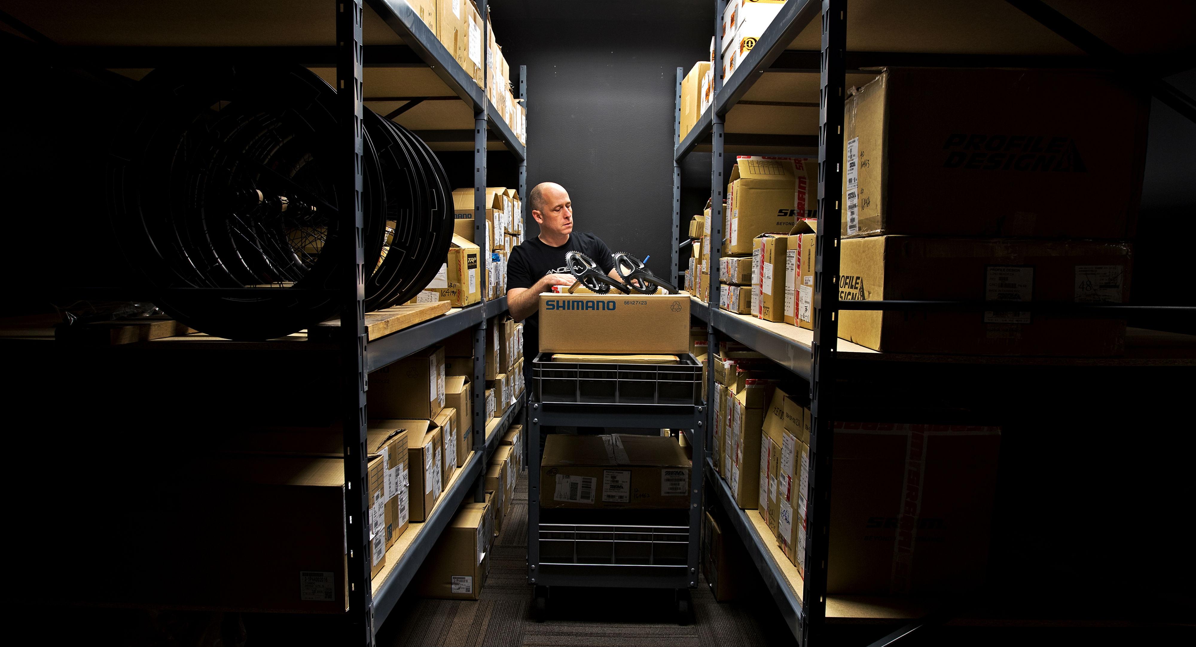 Diamondback Custom Studio component storage