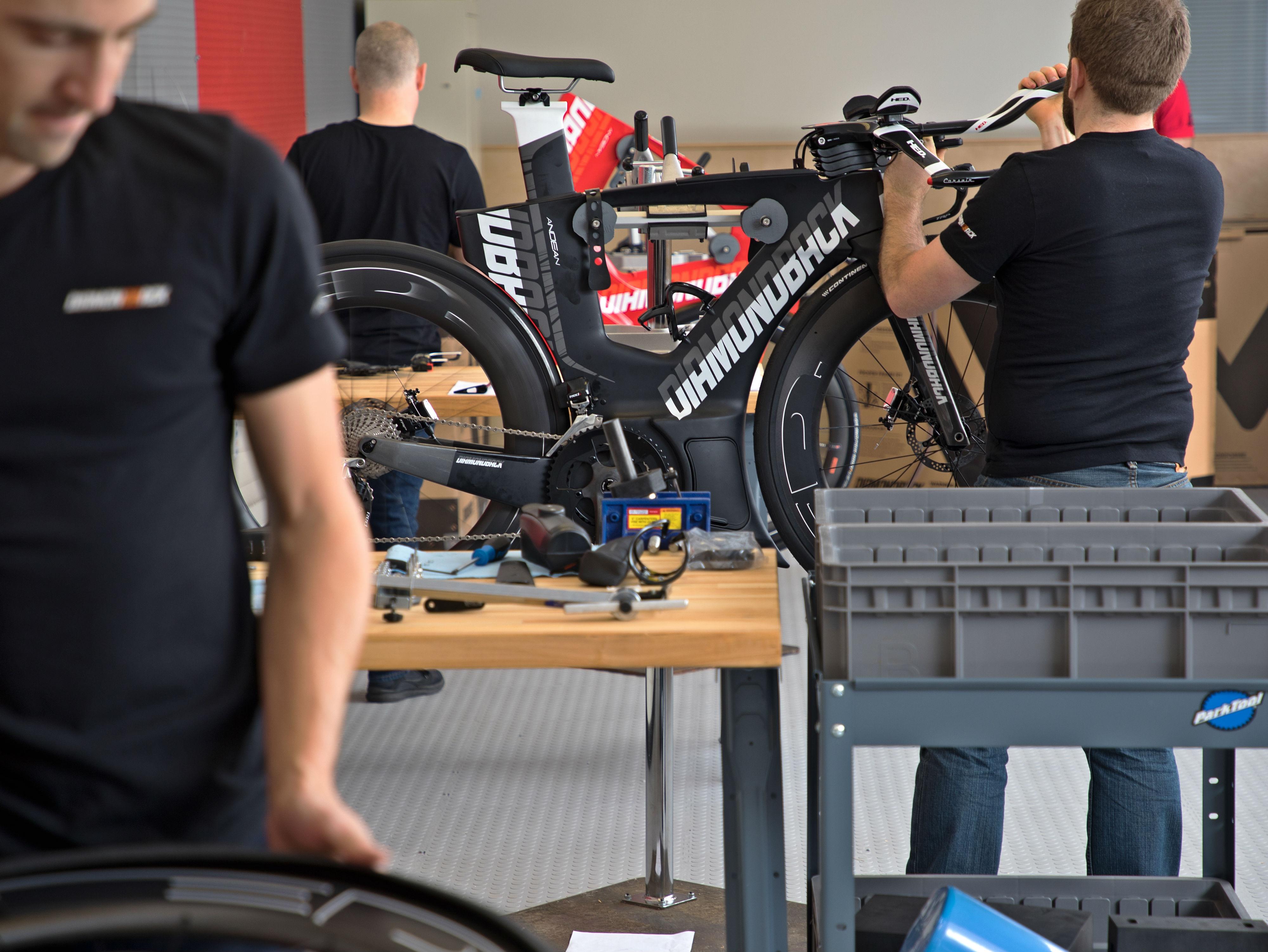 assembling dream bikes