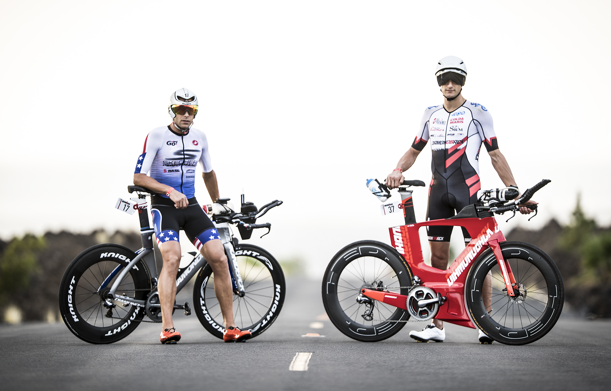 Matt Russell and Michi Weiss are ready for Kona