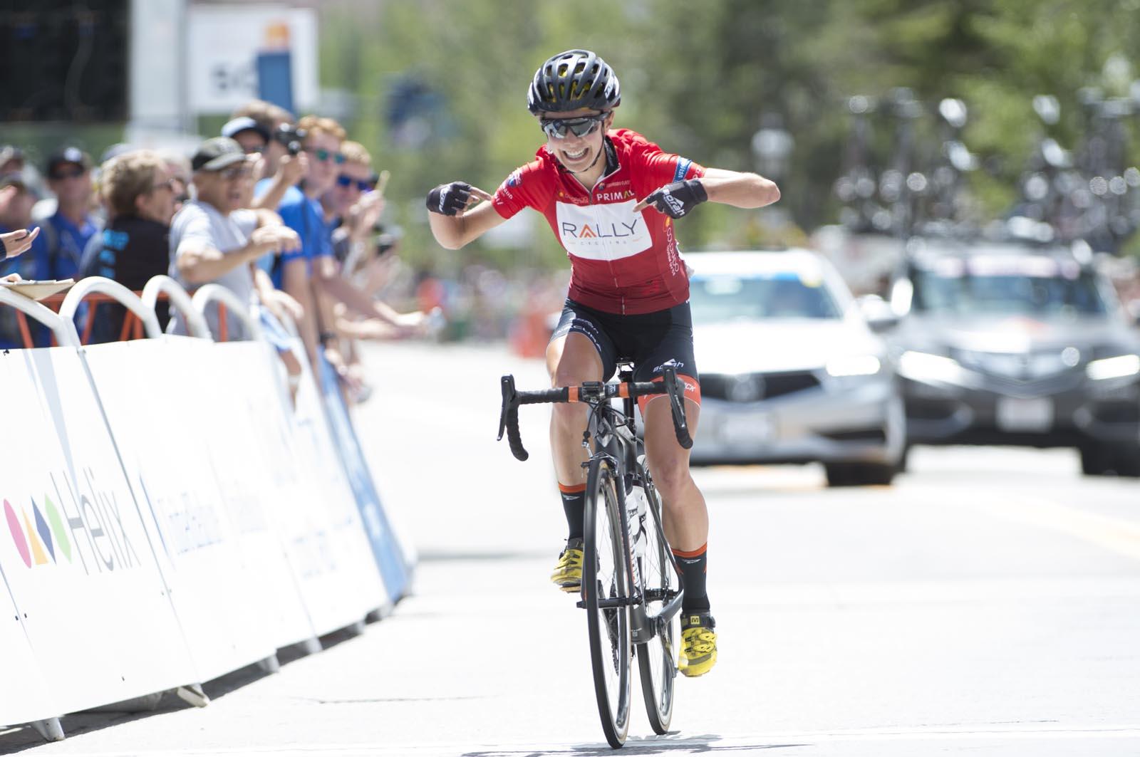 f41404492 Sara Poidevin Wins Colorado Classic. Rally Cycling s ...