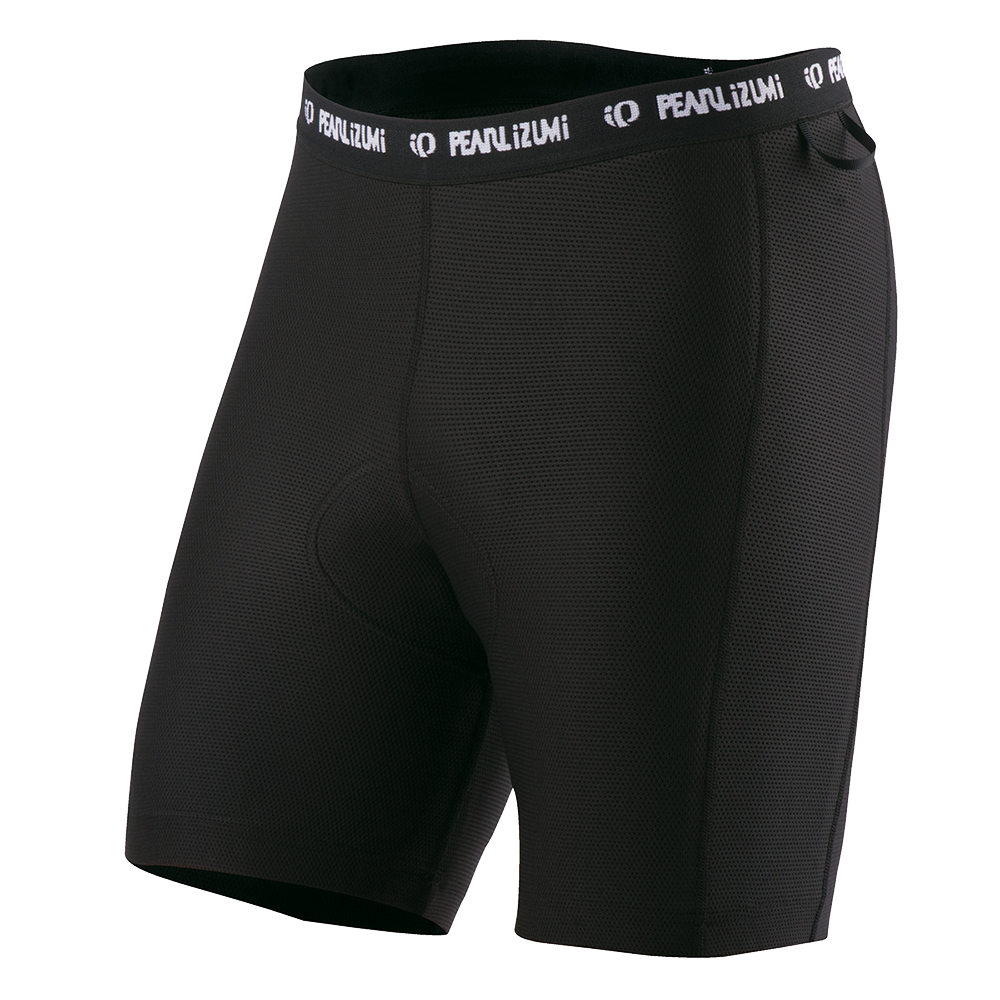 Men's black Pearl Izumi cycling shorts