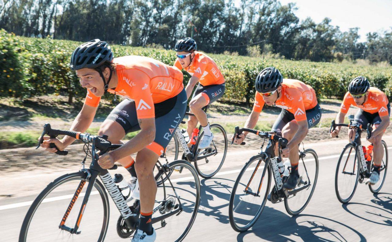 guys racing bikes