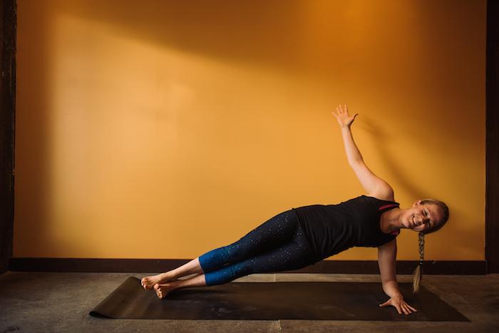 side plank forearm