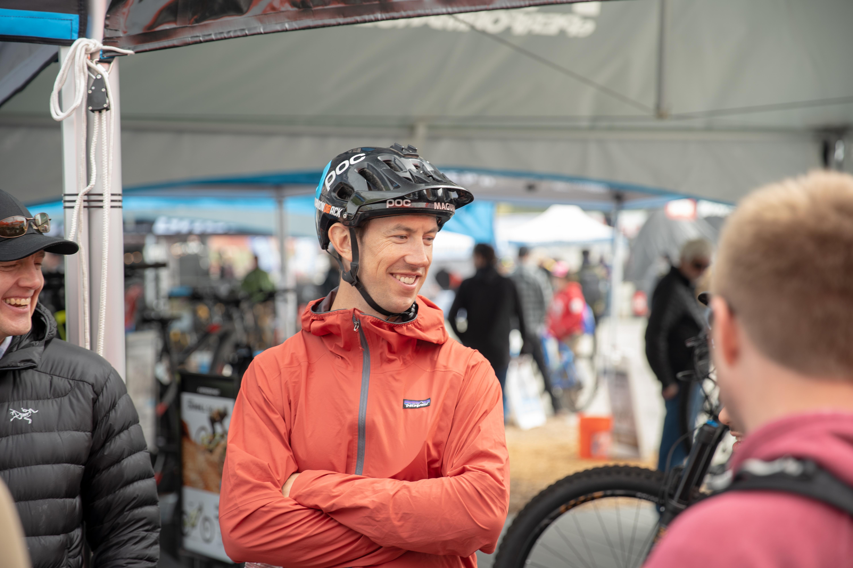 Eric Porter smiles