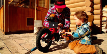 How to Teach Your Kids to Ride