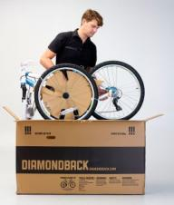 Unpacking and Assembling Your Diamondback Mountain Bike Equipped with Cantilever brakes
